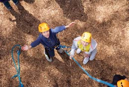 school trip at Avon Tyrell - The ukyouth Outdoor Activity Centre