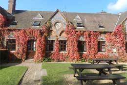 school trip at Aylmerton Outdoor Education Centre