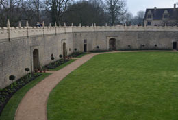 school trip at Bolsover Castle