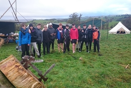 North Wales Bushcraft Residential school groups