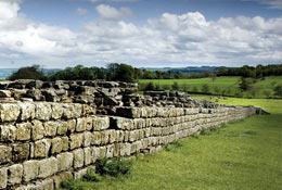 school trip at Chesters Roman Fort and Museum
