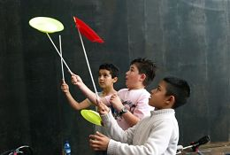 Circus Team Building Workshops school groups