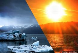 Climate Change and Global Warming photograph