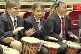 African Drumming school groups