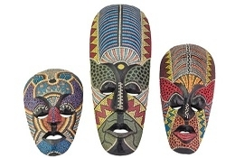 school trip at African Masks