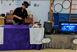 Magic, Witches & Wizards Workshop & Wow Day photograph