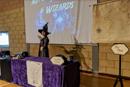 Magic, Witches & Wizards Workshop & Wow Day school groups