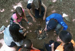 Woodland Ways Bushcraft Residentials - Derbyshire school groups