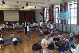 school trip at Fitness Workshops