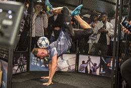Freestyle Football Workshops photograph