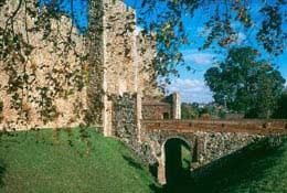 school trip at Framlingham Castles