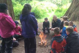 Bushcraft with the Field Studies Council photograph