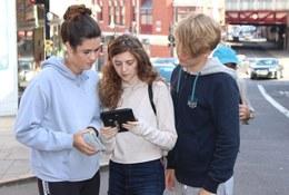 school trip at FSC Digital and Outreach