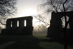 Glastonbury Abbey photograph