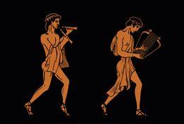 school trip at Ancient Greeks