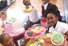 school trip at Healthy Workshops
