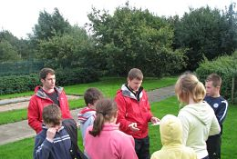 school trip at Leicester Outdoor Pursuits Centre