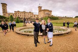 school trip at Osborne