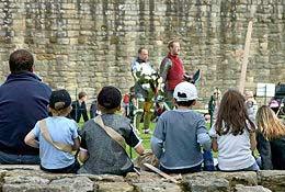 Warkworth Castle photograph