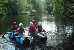 Holt Hall Environmental & Outdoor Learning Centre school groups