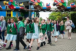 school trip at Legoland Windsor
