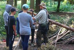 Woodland Ways Bushcraft - Leicestershire school groups