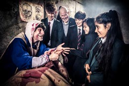 The London Dungeon school groups