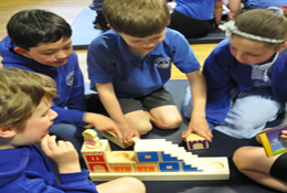 school trip at Maths Puzzle Activity Day