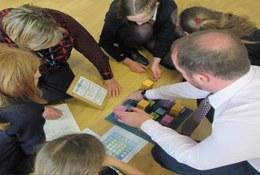 school trip at Maths Workshops