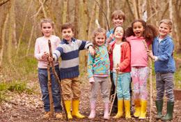 Outdoor Skills Workshop school groups