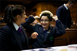 National Justice Museum Education at the Royal Courts of Justice school groups