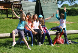 school trip at Outposts Residential Camp Somerset