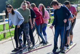 school trip at Peak - Chasewater Activity Centre
