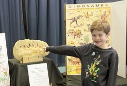 school trip at Dinosaur Workshop