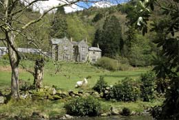 school trip at Plas Gwynant Outdoor Education Centre