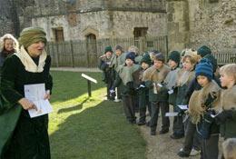 Portchester Castle school groups