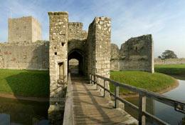 Portchester Castle photograph