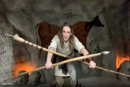 school trip at Prehistory Online Learning Workshops