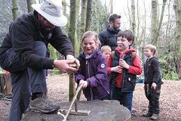 Stone Age School Trip photograph