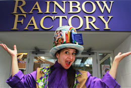 Rainbow Factory photograph