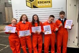 Real Life Escape Room At School photograph