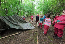 Longtown Outdoor Learning Centre photograph