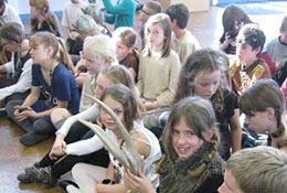 school trip at Anglo Saxons