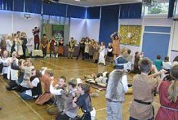 Anglo Saxons school groups