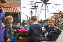 National Museum Of The Royal Navy in Hartlepool school groups
