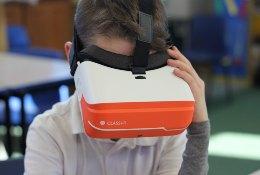 school trip at VR Workshop