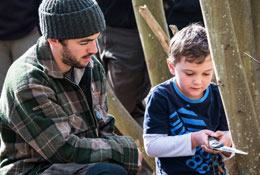 Woodland Ways Bushcraft Residentials - Scotland school groups