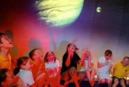 Explorer Dome-Forces Show school groups