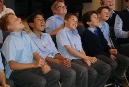 school trip at Explorer Dome-Rocket Science Shows and Workshops