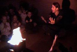 Explorer Dome-Winter Shows school groups